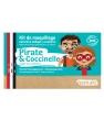 Kit maquillage 3 couleurs Pirate et Coccinelle Namaki