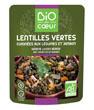Lentilles vertes cuisinées et jambon Bio Par Coeur