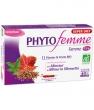 Phytofemme 45 + 11 plantes et fruit Thé vert minceur 20 ampoules de Super Diet