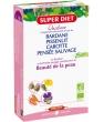 Quatuor Bardane beauté de la peau 20 amp de Super Diet