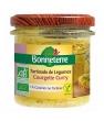 Tartinade de légumes bio courgette curry Bonneterre