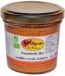 Toastinette Lentilles corail aux quatres épices Pellegrain En Provence
