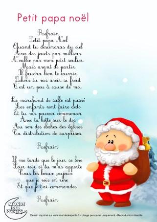 Chanson Noël cycle 1