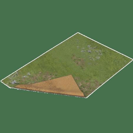 tapis double face haut plateau sable 22 x30