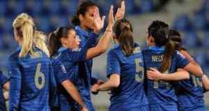 L'équipe de France féminine