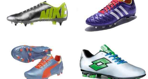 Les chaussures de foot pour la coupe du monde 2014