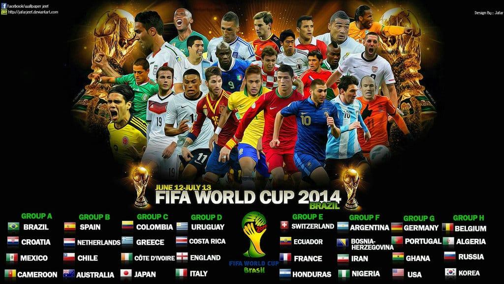 Wallpapers fonds d 39 cran de la coupe du monde 2014 for Fond ecran monde