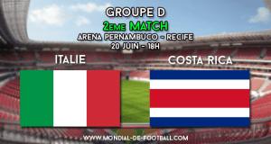 Italie Costa Rica