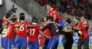 L'équipe nationale du Chili