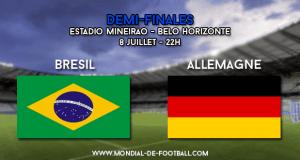 Brésil - Allemagne