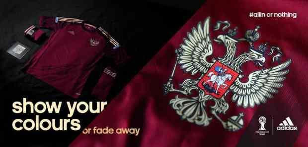 Adidas, l'équipementier de la Russie pour la coupe du monde 2014