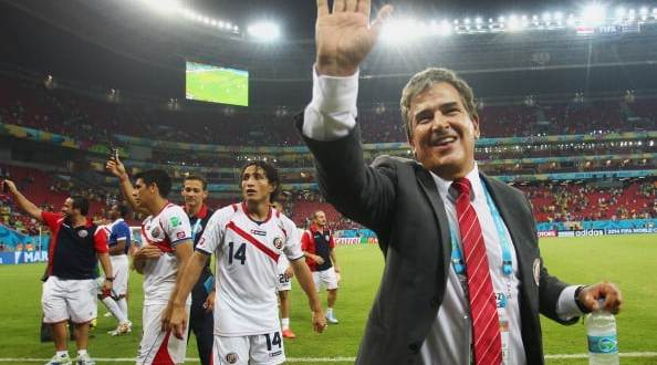Demission du sélectionneur du Costa Rica