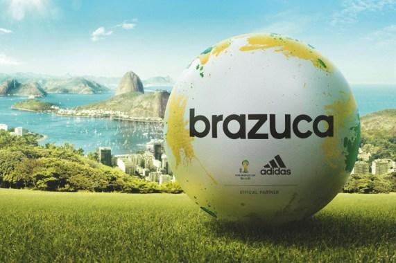 Il pallone ufficiale di Brasile 2014
