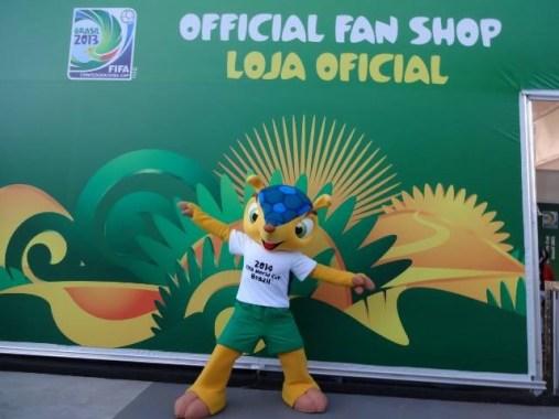 La mascotte ufficiale Brasile 2014