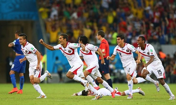 Favola Costa Rica: è ai quarti di finale del mondiale