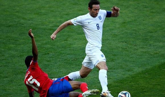 Costa Rica-Inghilterra: 0-0, Hodgson a casa senza vittorie