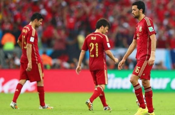 Spagna-Cile 0-2, Furie Rosse fuori dal mondiale