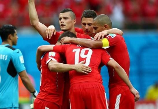 Honduras-Svizzera 0-3, tripletta di Shaqiri