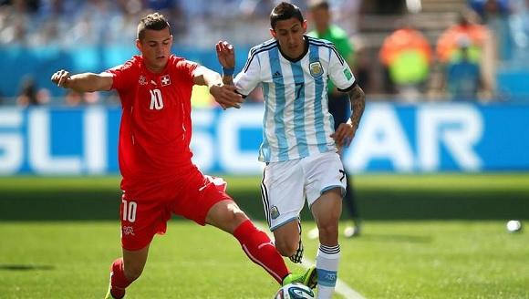 Argentina-Svizzera 1-0, decide Di Maria ai supplementari