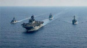 Deux porte-avions américains en manœuvres en Mer de Chine du Sud