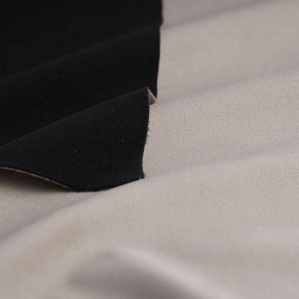 tissu velours thermique phonique bristol taupe