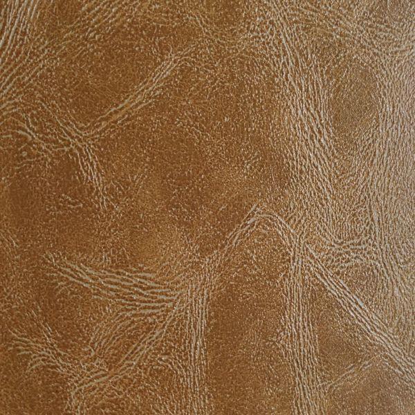 tissu simili cuir effet vieilli prima marron clair honey