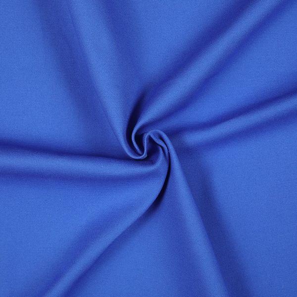 Tissu coton chino bleu