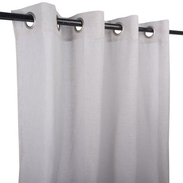rideau enzo gris clair 140x240 cm
