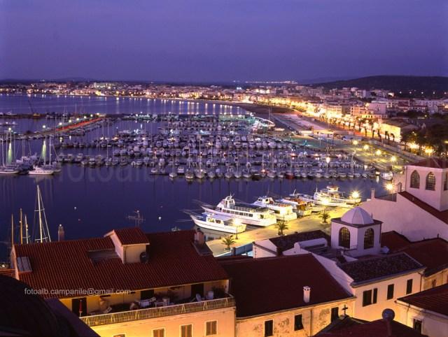 The Harbor, Alghero, Sardinia, Sardegna, Italia, Italy, Europe