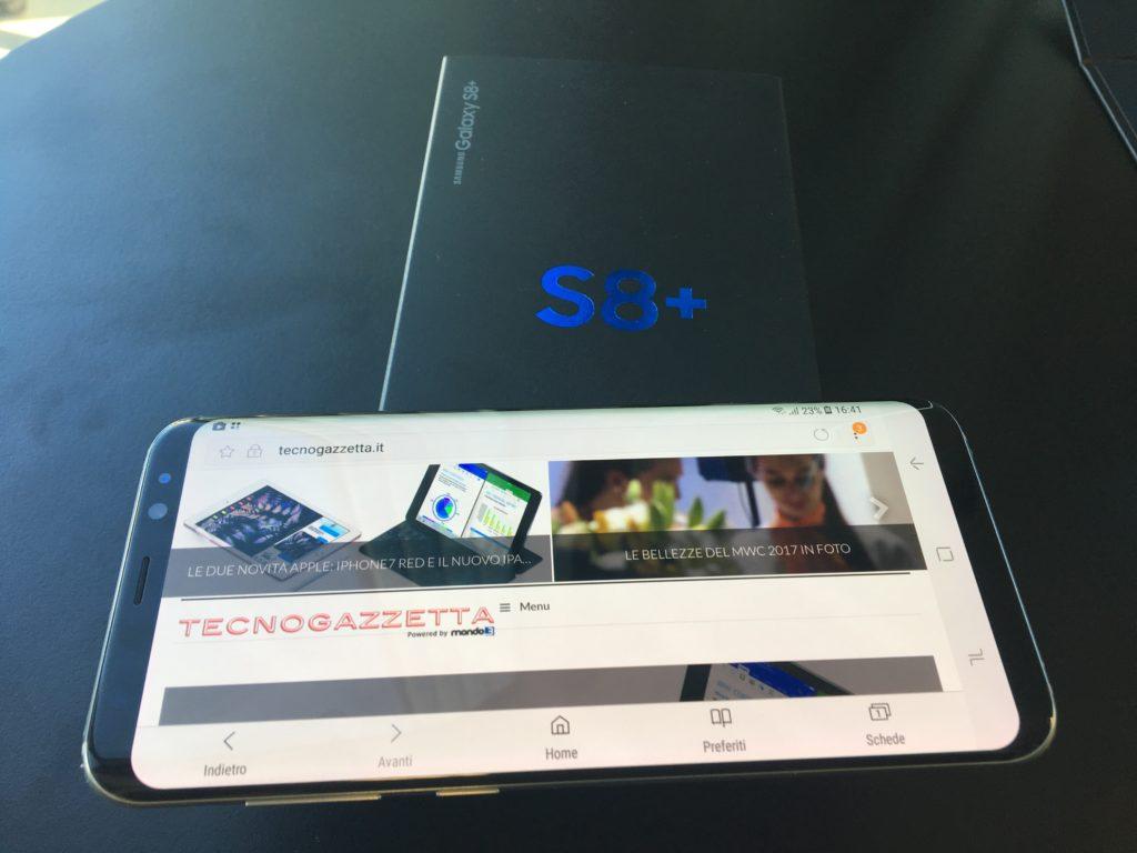 Dal 3 al 9 aprile il nuovo Samsung S8 sarà in esposizione in tutti i Vodafone Store d'Italia