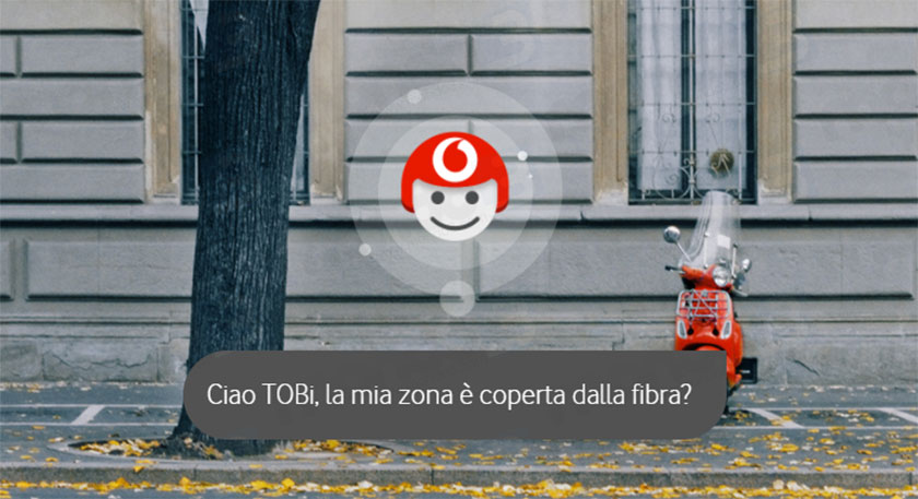 Vodafone presenta TOBi, l'intelligenza artificiale al servizio del customer care