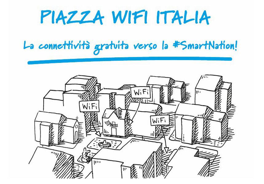 Piazza Wifi Italia: sono 2.413 i Comuni che hanno aderito finora al progetto