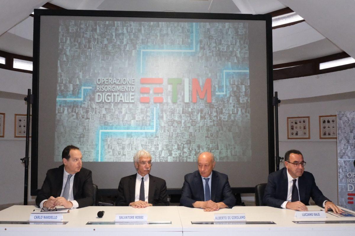 """Al via da Marsala """"Operazione Risorgimento Digitale"""" di TIM"""