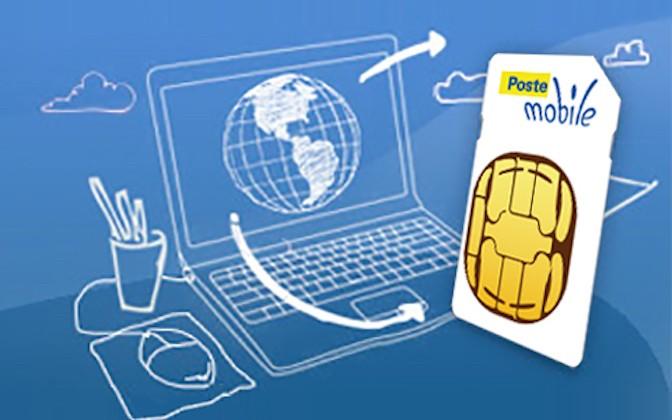 Torna PosteMobile con la tariffa in esclusiva online. Solo il 18 e 19 gennaio