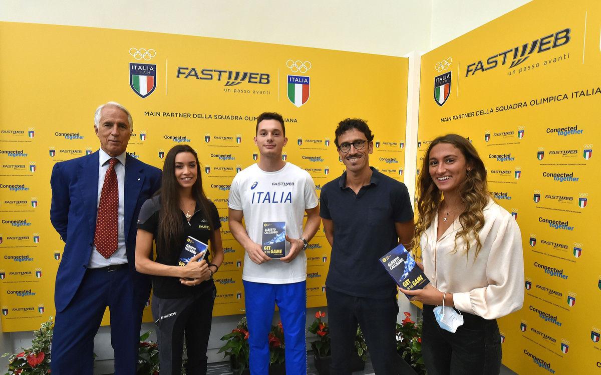 Fastweb è main partner del CONI e dell'Italia Team ai Giochi Olimpici di Tokyo 2021