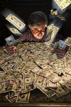 Amasando dinero