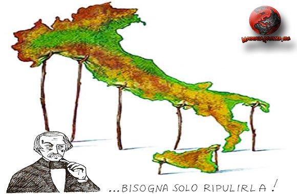 Italia-stivale