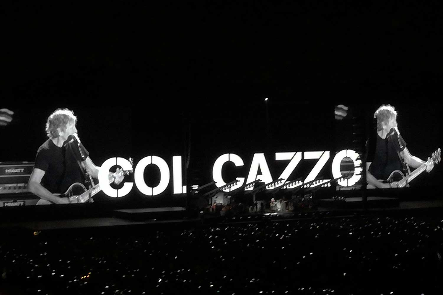 roger waters col cazzo