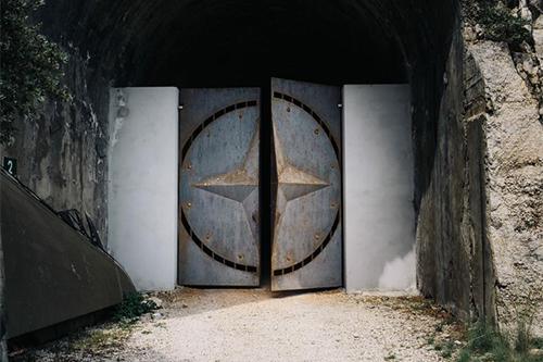accesso al Bunker Monte Soratte