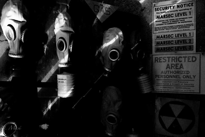 maschere antigas bunker monte soratte