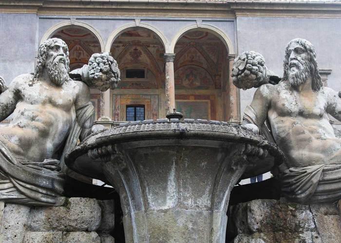 Fontana dei Giganti Palazzo Farnese Caprarola