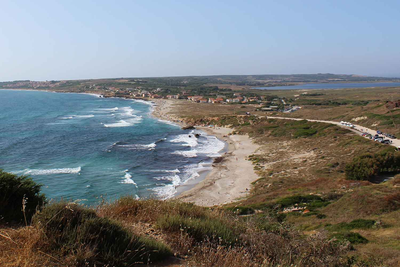 la spiaggia di San Giovanni di Sinis