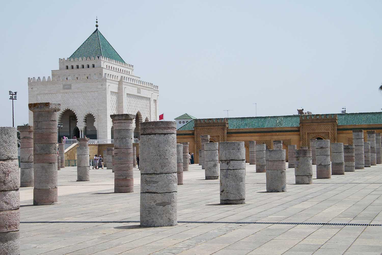 Mausoleo Mohammed V Rabat