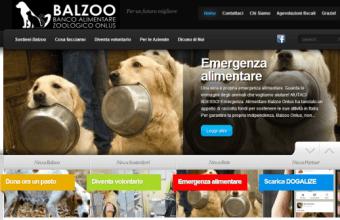 Balzoo, banco alimentare per animali