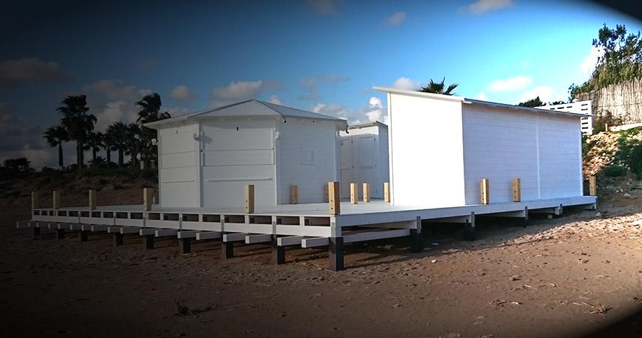 mantenimento annuale strutture balneari