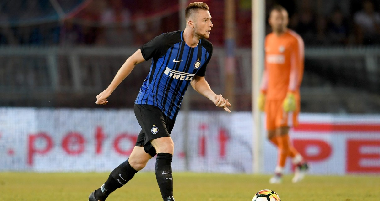 Inter, il difensore Milan Skriniar