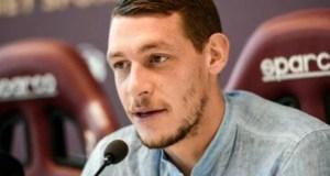 Torino, l'attaccante Andrea Belotti