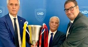 ACR Messina, la consegna della Coppa per la vittoria del campionato 2020/2021