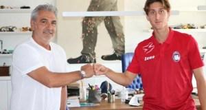Crotone, il nuovo giocatore Samuele Mulattieri dall'Inter