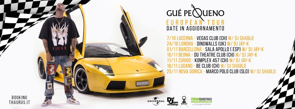 gue pequeno lamborghini video date tour europeo